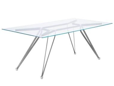 Rectangular crystal table ANONIMUS | Rectangular table