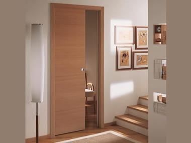 Wooden pocket sliding door ANTARES   Pocket sliding door