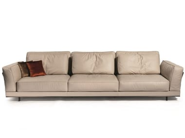 3 seater leather sofa ANTHEM | 3 seater sofa