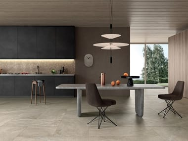 Indoor/outdoor porcelain stoneware wall/floor tiles with stone effect ANTHOLOGY - DESERT