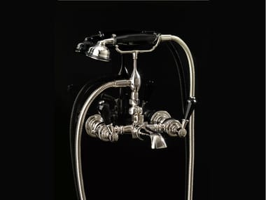 Wall-mounted bathtub tap with hand shower ANTIQUE PRECIOUS LEVER | Wall-mounted bathtub tap