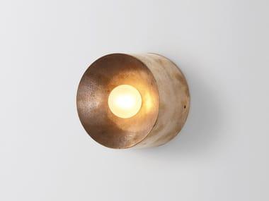 Applique a LED in bronzo ANTON MINI GUNMETAL
