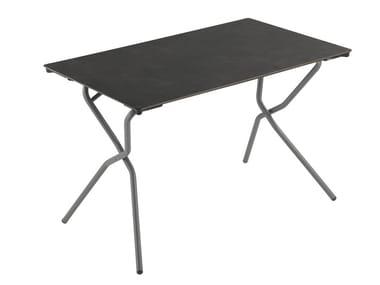Folding HPL garden table ANYTIME | Rectangular table