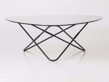 Low glass coffee table AO