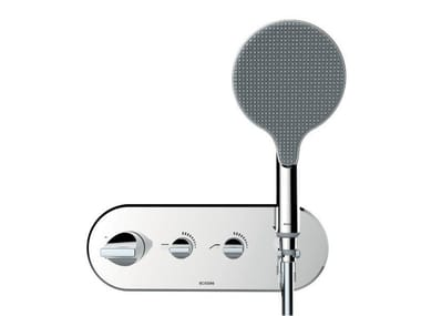 Thermostatic shower mixer with hand shower APICE | Shower mixer