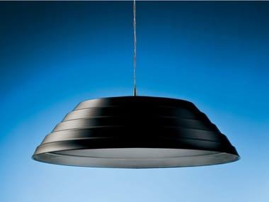 LED Anodized aluminium pendant lamp APOCALISSE