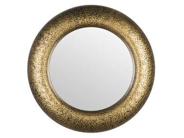 Round wall-mounted framed mirror APOLLON | Mirror