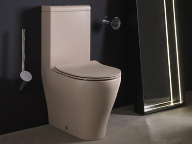 Close coupled Floor mounted ceramic toilet APP | Close coupled toilet