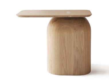Tavolino rettangolare in legno APRIL | Tavolino in legno
