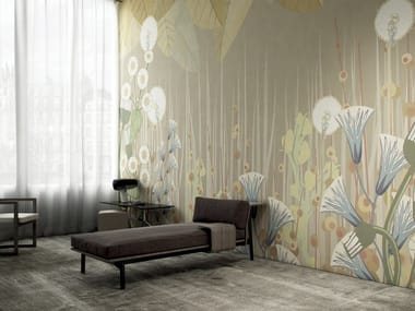 Wallpaper with floral pattern APRILE