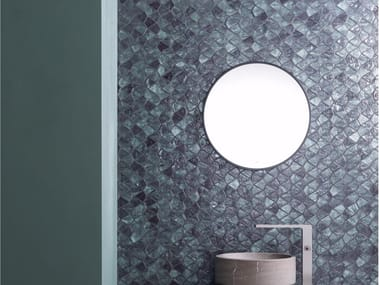 Glass mosaic AQUA