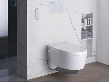 Wall-hung toilet with bidet AquaClean Mera