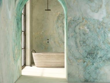 GlamFusion™ wallpaper with marble effect AQUALUNAE