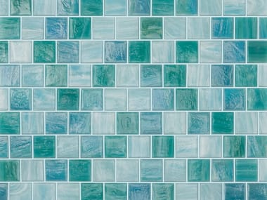 Glass mosaic AQUAMARINA