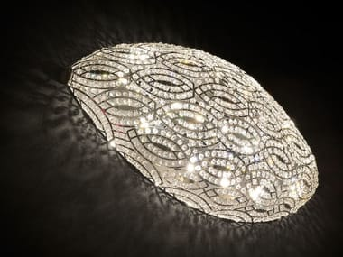 Wall light with crystals ARABESQUE AIRSHIP | Wall light