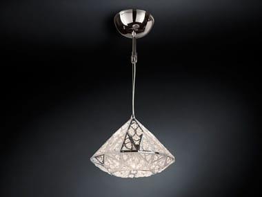 LED steel pendant lamp with crystals ARABESQUE DIAMOND | LED pendant lamp