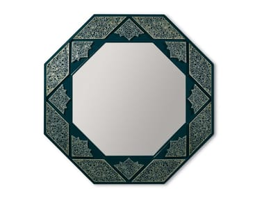 Wall-mounted mirror ARABESQUE EIGHT SIDED WALL MIRROR