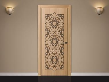 Wooden door with concealed hinges ARABESQUE | Wooden door & Oriental Style Doors | Archiproducts