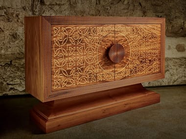 Madia con ante a battente ARABIC CHEST OF DRAWERS