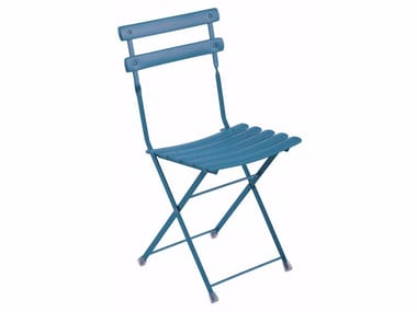 Folding steel garden chair ARC EN CIEL | Chair