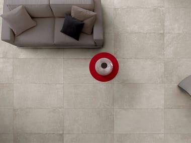 Pavimento in gres porcellanato effetto pietra per interni ed esterni ARCHEA | Pavimento