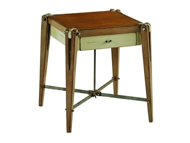 Square solid wood side table ARCHIMEDE | Coffee table