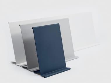 Leggio da tavolo o parete in alluminio verniciato a polvere ARCHIVIO VIVO