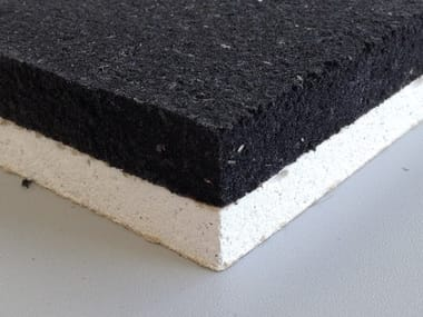 Eco-compatible soundproofing / sound-absorbing felt ARCO GIPS