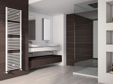Vertical wall-mounted steel towel warmer ARES | Towel warmer