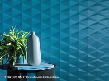 Rivestimento tridimensionale in ceramica a pasta bianca ARKSHADE WALL | Rivestimento tridimensionale