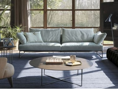 3 Seater Fabric Sofa With Removable Cover ARLON | Fabric Sofa