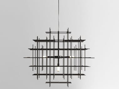 LED iron pendant lamp ARMADA 283.02.NN