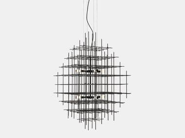 LED iron pendant lamp ARMADA 283.03.NN