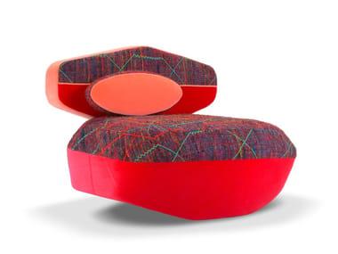 Fabric armchair BIG SOFA   Armchair