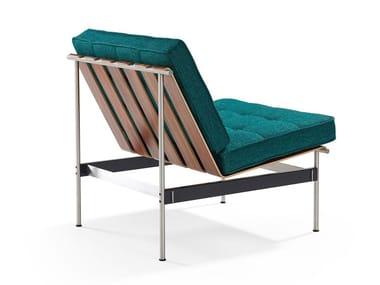 Tufted fabric armchair 416 | Armchair