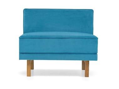 Fabric armchair FLYTTE | Armchair