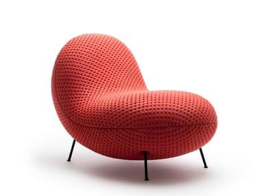 Fabric armchair BABA