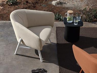 Sunbrella® garden armchair with armrests TUILE | Armchair
