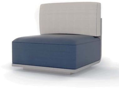 Modular armchair with fire retardant padding AIR | Armchair