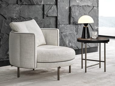 Armchair with armrests TORII | Armchair