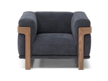 Armchair with armrests DALTON | Armchair