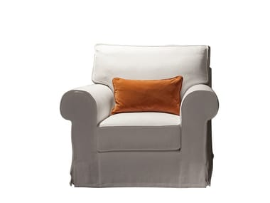 Armchair with armrests VANITY | Armchair
