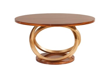 Round wooden dining table ARMILAR | Round table
