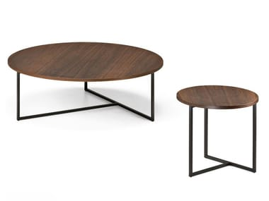 Round Sucupira coffee table ARMONIA | Round coffee table