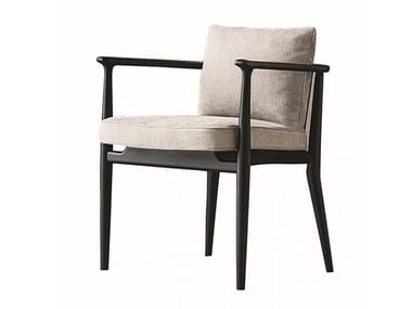 Upholstered fabric chair ARNE | Chair