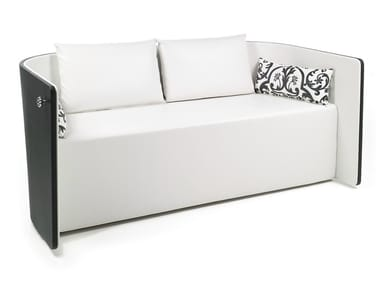 2 seater fabric sofa AROLDO