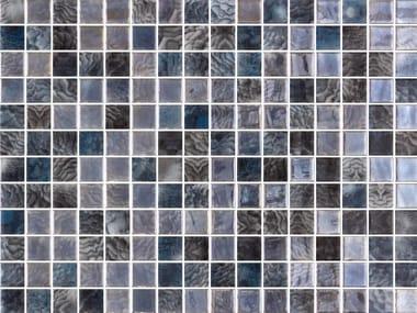 Mosaico de vidrio para interiores y exteriores ARRECIFE IRIDIS GREY