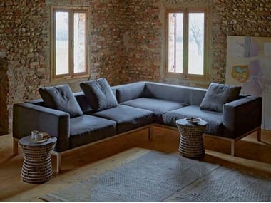 Corner fabric sofa with removable cover ARRIS   Sofa