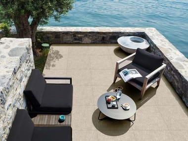 Pavimento per esterni effetto cemento effetto marmo ART 20 | Beige