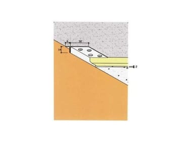Frame and accessory for suspended ceiling ART. 4006
